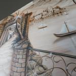 Барельефы, лепнина, аэрография, роспись стен и фасадов