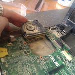 Чистка ноутбуков и компьютеров с заменой термопасты