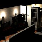 Начальный дизайн комнат