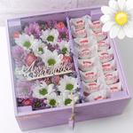 Изготовление и доставка коробок из младостей и цветов